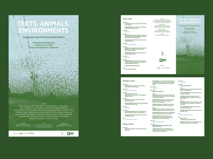 Texts, Animals, Environments